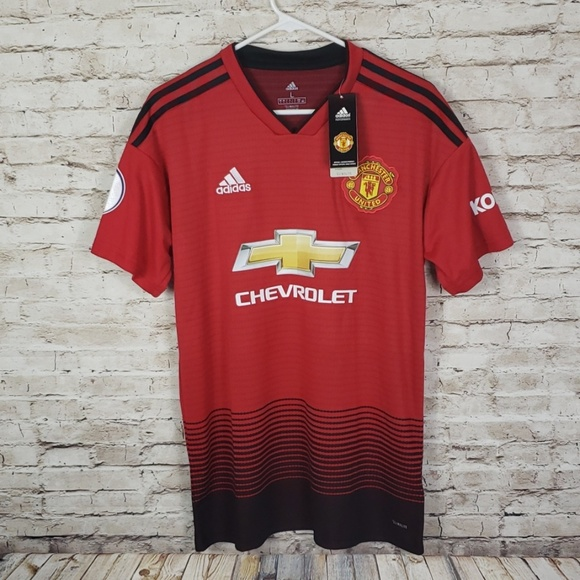 super popular c9f28 936c5 Manchester United Anthony Martial 18/19 Jersey NWT